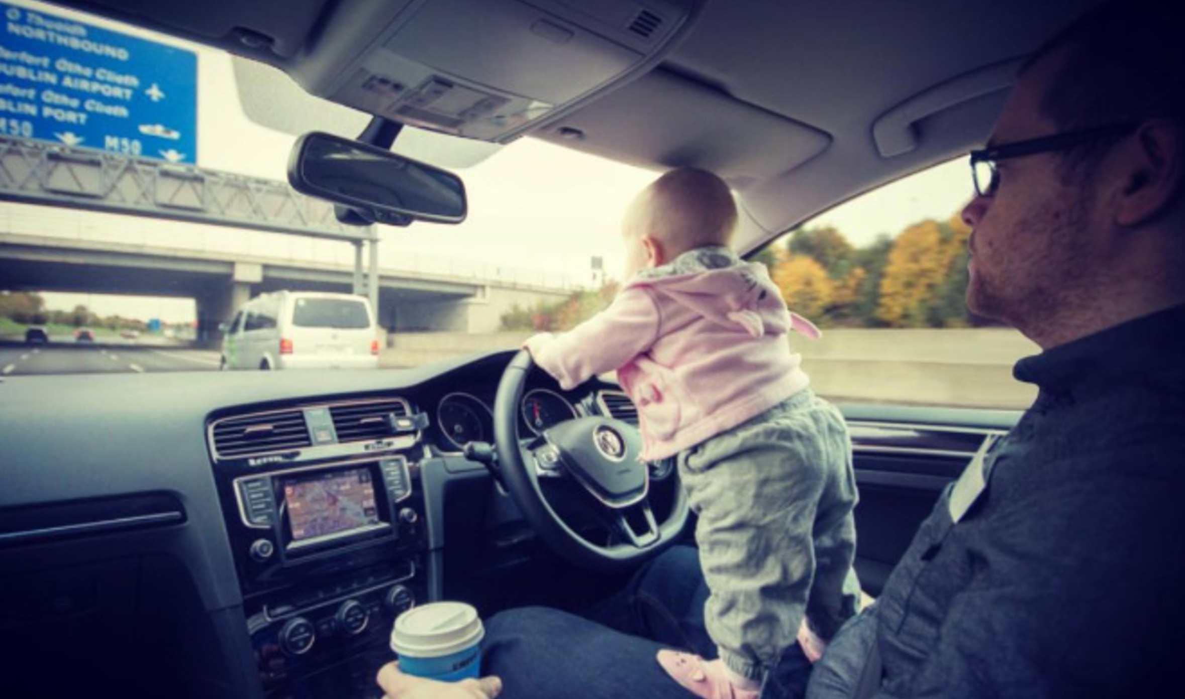 Dad Photoshops Daughter Into Dangerous Situations To Freak