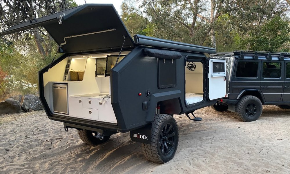 If Batman Lived In A Camper Trailer It'd Be This One