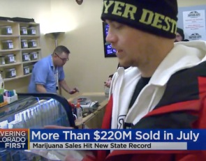 Colorado Sold $226 Million of Weed In July