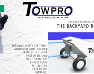 This Portable Backyard Rope Tow System Needs To Get Funded