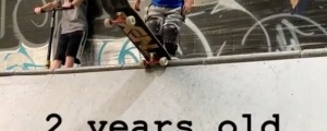 """VIDEO: Two Year Old Skater Has Ramp Skills...""""TINY HAWK"""""""
