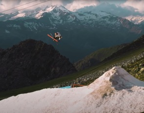Red Bull Snow: Skiing The Ultimate Spring Snowpark