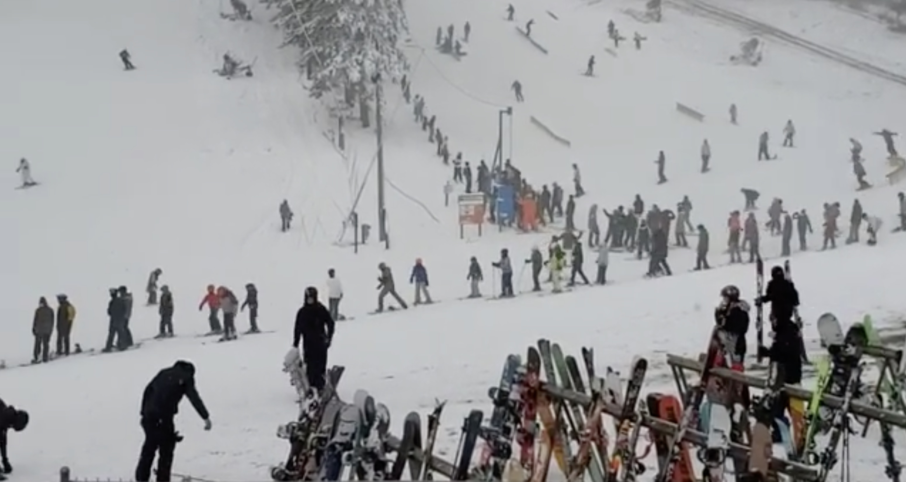 Lift Ticket Sales Capped After Hundreds Of Skiers Show Up For Trollhaugen's Opening Day | Unofficial Networks