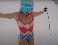 This Olympic Skier Is The Real Wonder Woman
