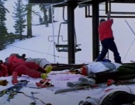 Shane McConkey Once Massacred Entire Liftline For First Chair