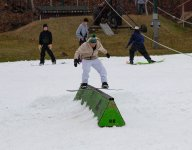 The First Ski Area Open In North America Is...