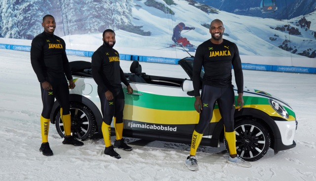 Jamaican Bobsled Team Trains At Uk Indoor Ski Slopes During Lockdown Unofficial Networks