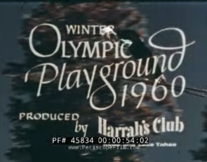 1960 Squaw Valley Olympic Promo by Harrah's Casino Reno (28 Minutes)