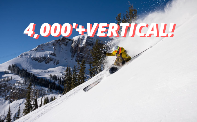 The Longest Lift-Serviced Vertical In Each State (True-Up Vertical)