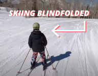 What It's Like To Ski Blind