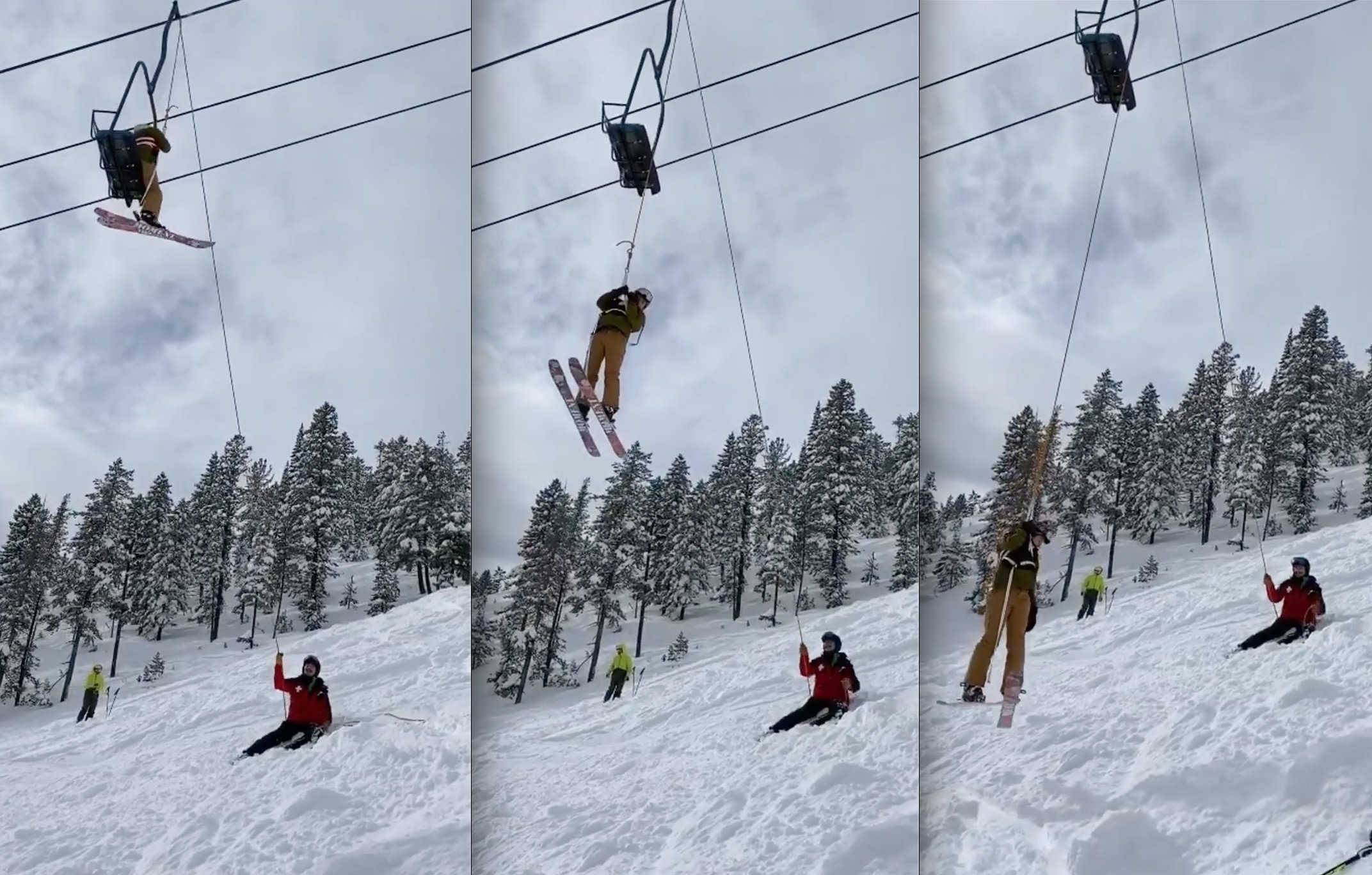 VIDEO: Chairlift Evacuation After Montana Snowbowl ...