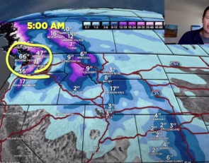 Mountain Weather Update From Meteorologist Chris Tomer