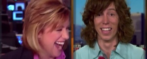 """Shaun White's Funniest Interview Moment """"I'm Talking Mountain Dew Baby"""""""