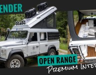 Small German Company Is Converting Land Rover Defenders Into Overlanders