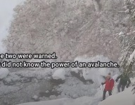 VIDEO: Close Encounter With Controlled Avalanche at Snoqualmie Trail