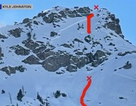 Tahoe Skier Survives Avalanche By Sending 100-Foot Cliff