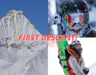 Ian Mcintosh & Christina Lusti Complete First Descent of Mount Nelson, BC