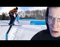 """""""180lb Skier Reacts to X Games Slopestyle 2021..."""""""