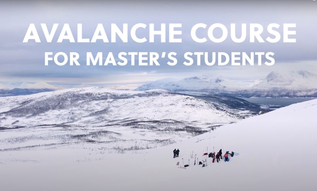 Norwegian University Offering Avalanche Course For Master's Students