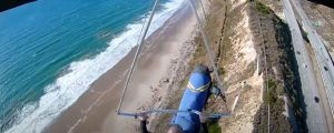 Hang Glider Nearly Dies After Harness Detaches From Wing