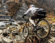 World Champion Mountain-Biker Rips Abandoned Slate Quarry in Wales