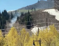 Construction Workers Accidentally Spark Wildfire @ Steamboat's Howelsen Hill
