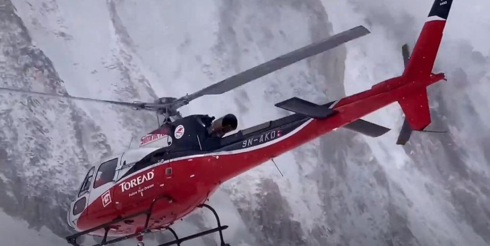 Climber Evacuated From Everest At Highest Possible Altitude For Helicopter Rescue