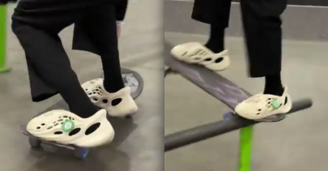 VIDEO: Skateboarding With The New YEEZY Foam Runners
