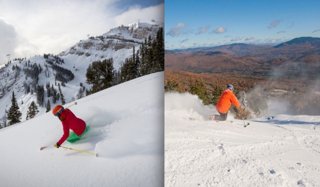 5 Differences Between East Coast & West Coast Skiers