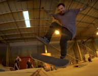 VIDEO: Bam Margera's Private Skate Session (2021)