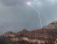 Multiple Hikers Struck By Lightning in the Grand Canyon