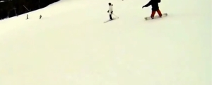 Snowboarder and Skier Collide- Who's At Fault?