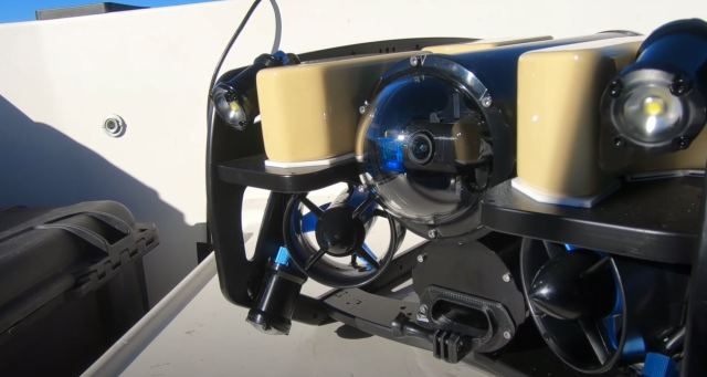 VIDEO: Scientists Use Robot To Dive To Deepest Point of Lake Tahoe (1,640' in depth)