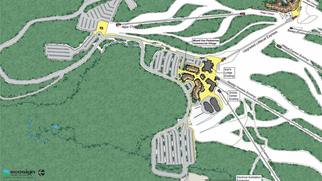 Snowbasin Resort To Construct Massive Base Village (Phase One Opening in 2024)