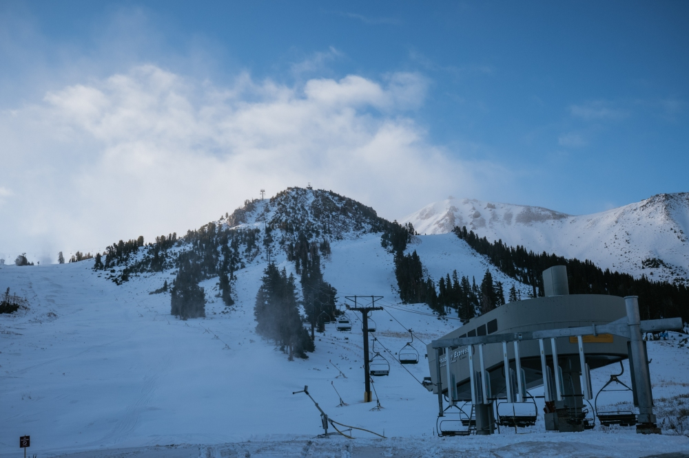 Mammoth Announces Early Opening Thanks To Copious October Storms
