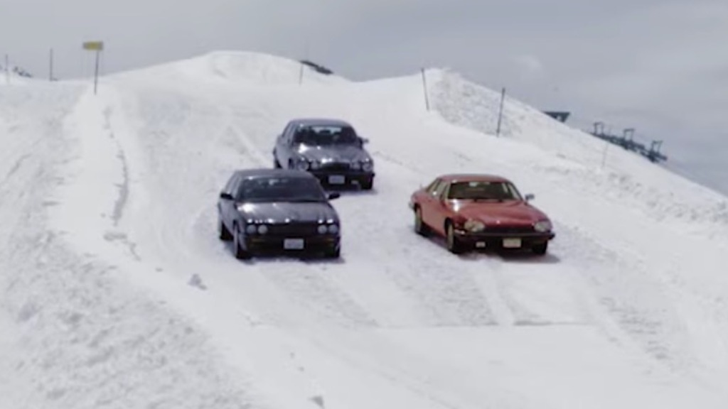 TELLURIDE: Classic Jaguar Skiing with Jeremy, James and Richard